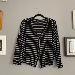 Flowy Striped Blouse (3/$15, bundle and save!)